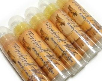 Sale! Mango Peach Lip Balm - Firebird Flare