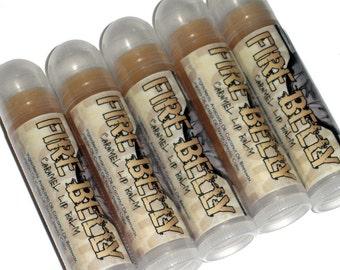 Sale! Caramel Lip Balm - Fire Belly