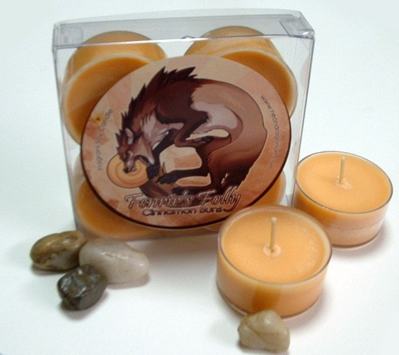 Sale! Cinnamon Buns - Fenrir's Folly - Soy Tealights