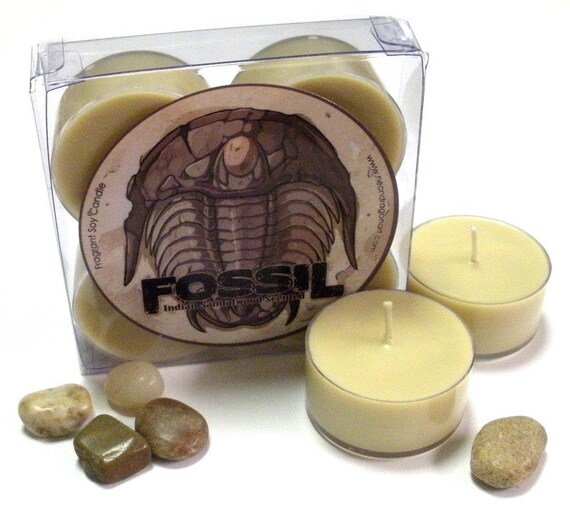 Sale! Indian Sandalwood - Fossil - Soy Tealights