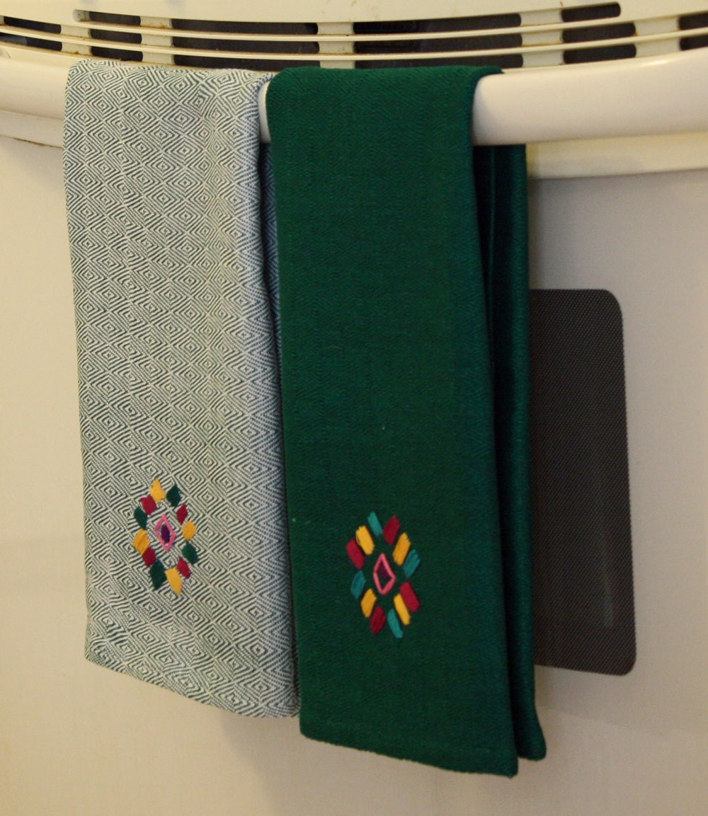 Washcloths For Sale: SALE Kitchen Towels Dish Towels Hand Woven By MayaMamWeavers