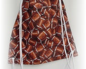 Football Drawstring Backpack