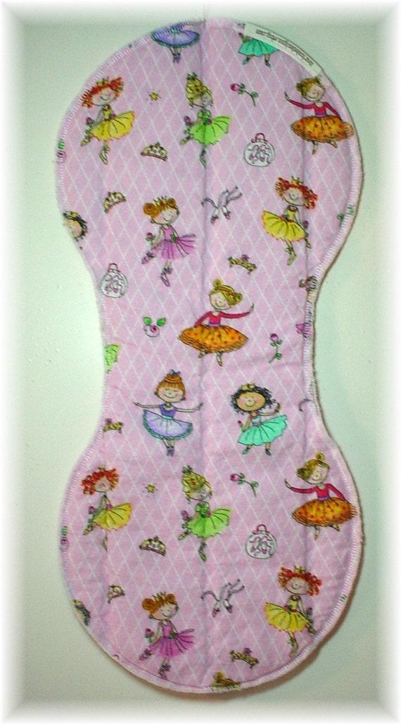 Ballerina Burp Cloth