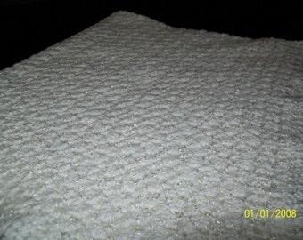 Crochet Baby Blanket, Baby Blanket, Baby Afghans, White