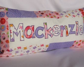 Pink Cupcakes - Personalized Pillow