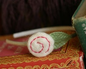 Peaceful Garden Headband in White and Pink