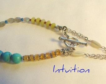 The healing energy of gemstones in this bracelet.....