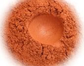 5g Mineral Eye Shadow - Valencia - Bright Orange With Shimmer