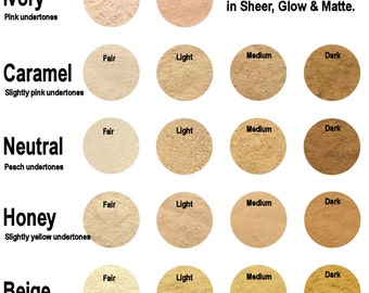 REFILL Mineral Foundation - Sheer Coverage - 18 Colours To Choose From