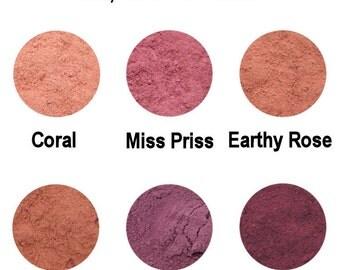 10g Mineral Blush - Shimmer Blush - Shimmery & Glowy