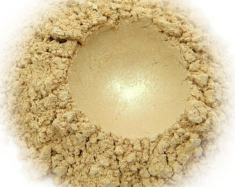 5g Mineral Eye Shadow - Champagne - Pale Beige With Gold Sheen