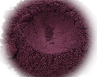 5g Mineral Eye Shadow - Plush - Dark Plum With Pink Sheen