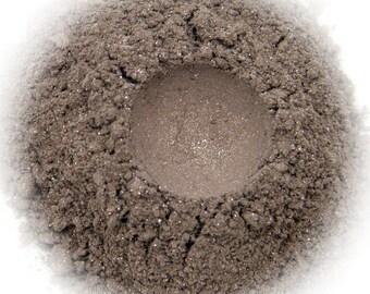 5g Mineral Eye Shadow - Dusty Diamonds - Grey Brown With Sparkle