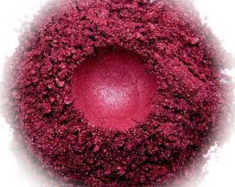 5g Mineral Eye Shadow - Dolcetto - Red Wine With Sparkle