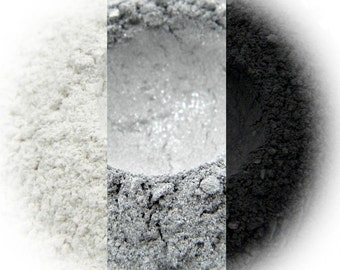 Smokin' Eyeshadow Trio - Sparkling Snow, Silver, Basic Black