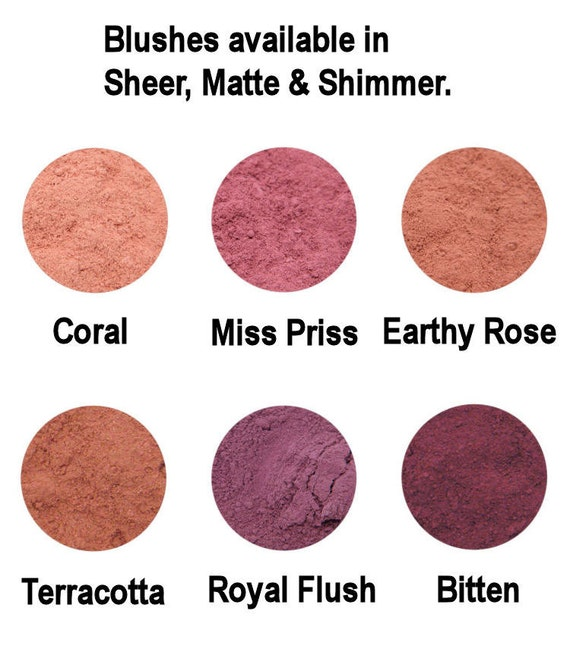 10g Mineral Blush - Sheer Blush - A Natural Flush Of Colour