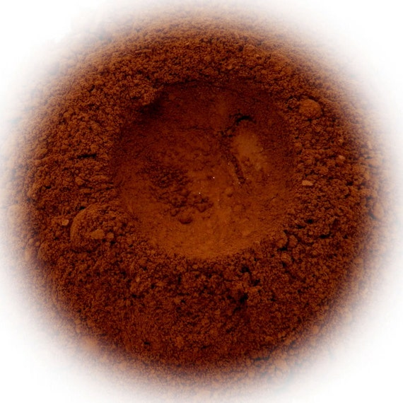 5g Mineral Eye Shadow - Hazelnut - Rich Red Brown With Suede Finish