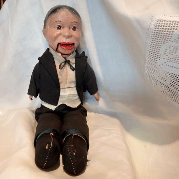 on hold--Charlie McCarthy ventriloquist , original and authentic