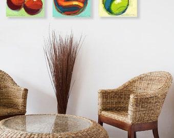 Create your own Triptych - 3 Original paintings - Bundle Sale.