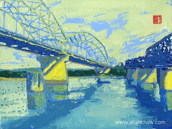 Open Edition Print - After Hannibal Bridge 8 X 10