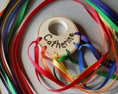 Natural Wooden Toy Rainbow Ribbon Runner