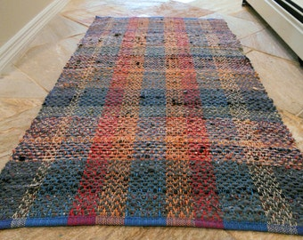 Rag Rug,  Recycled Cotton