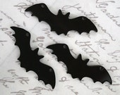 3 x laser cut acrylic bat charms - any colour