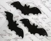3 x laser cut acrylic bat charms - any colour
