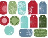 25 Printable Holiday Gift Tags Print As Many As You Want