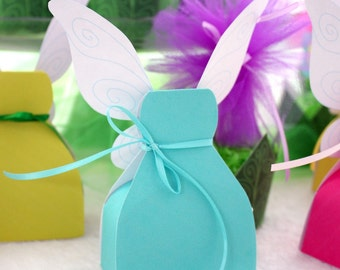 Fairy Dress Printable Box Robin Egg Blue