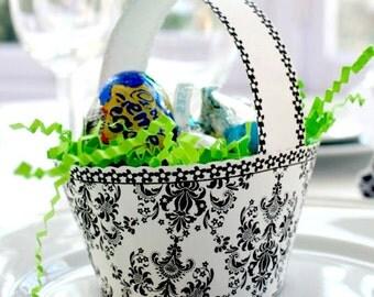 Regal Damask Posh Printables Easter Basket