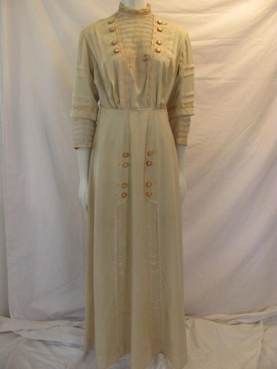 Titanic Era Edwardian Day Dress circa 1915 Film Theater Design Study