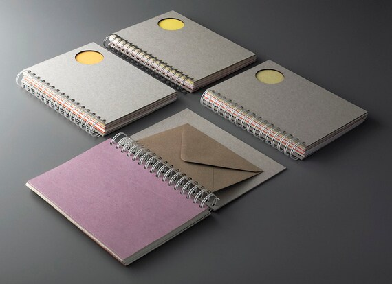 A5 Saved Paper Notebook