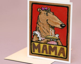 Mama Bear, mother's day card
