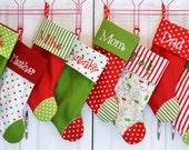 Custom lisitng for Jenny for 5 stockings