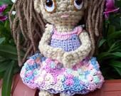 Bailey- crochet doll