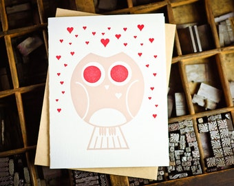 Love owl by the permanent collection press