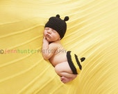 Honey Bee Hat and Tushy Topper Crochet Pattern PDF 71