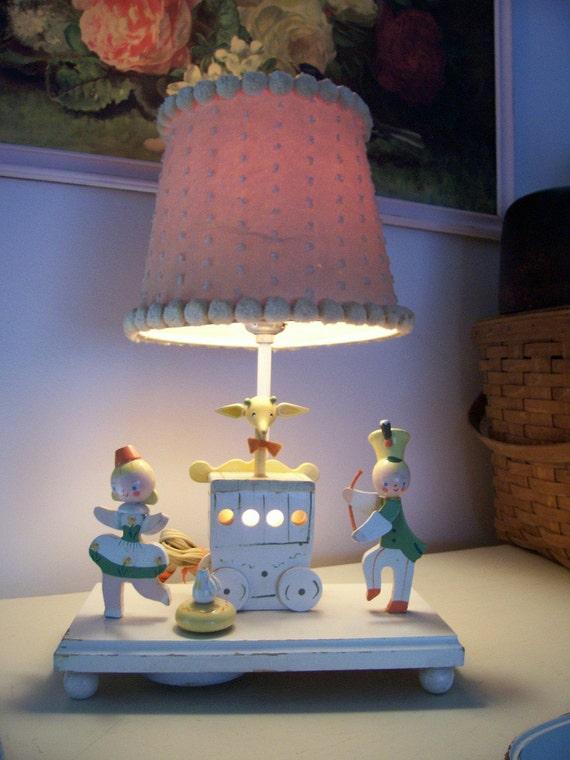 Musical Nursery Lamp