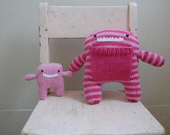 Mama & Baby Monsters Stuffed Animal
