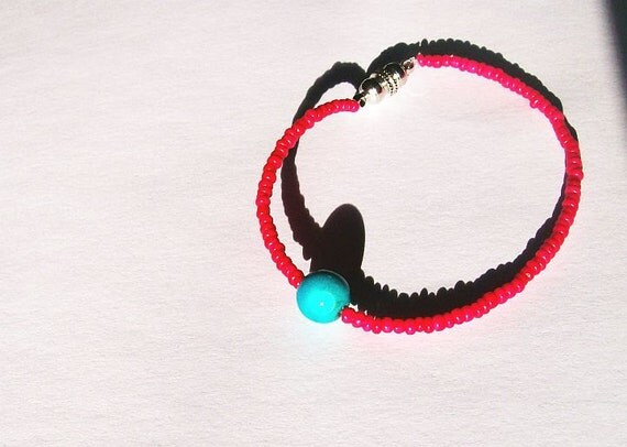RESERVED Sweetest Little Indian Summer Bracelet