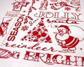 Limited Edition Christmas Tea Towel
