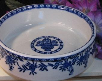 Vintage Jackson China Restaurant Ware Blue Chinese Flower Basket Cereal Bowl 1980s Mid Century Restaurant & Jackson china basket | Etsy