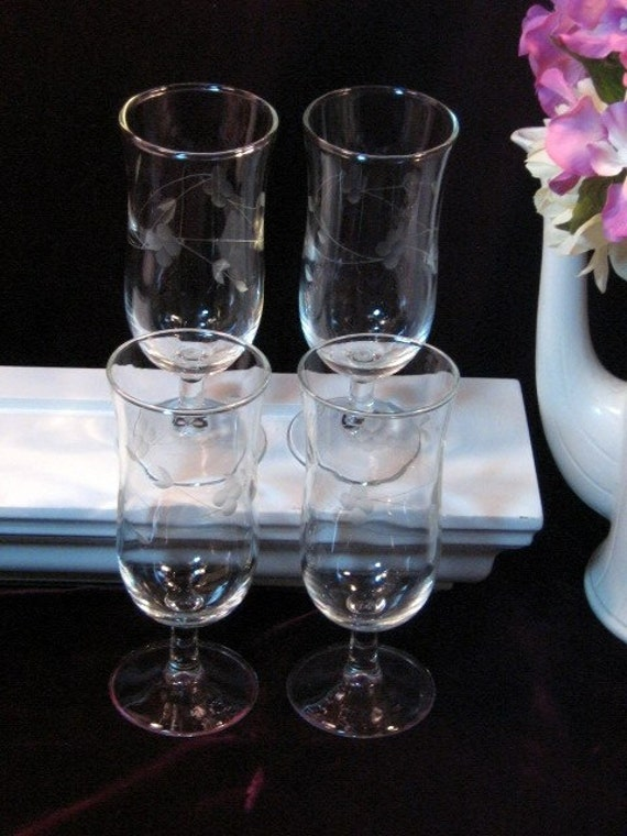 Princess house crystal heritage parfait sundae glasses set of for Princess housse