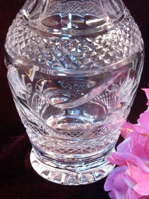 Vintage Waterford Crystal Glandore Flower Vase
