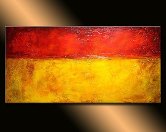 Original Modern Textured Abstract Painting ,Contemporary Gallery Painting By Henry Parsinia