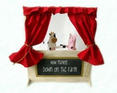 My Finger Puppet Theater - Travel bag included
