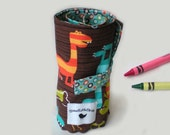 Artistic Me Crayon Roll - Dinosaurs...24 Crayons included