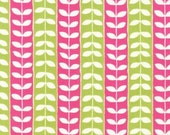 Monaluna Mingle Leaf stripe SPRING 1 YD total