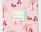 "LAST ONE SALE.....15% off  Aneela Hoey A Walk in the Woods by Moda fabrics, Pre-cut 10"" layer cake"